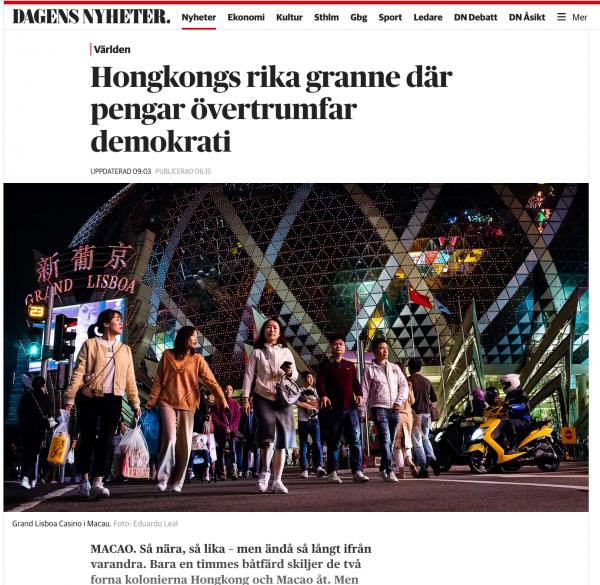 Dagens Nyheter, December 2019