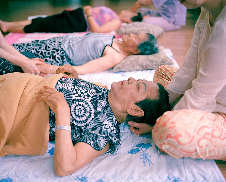 Massages, House of Sharing, Gwangju, South Korea, 2010