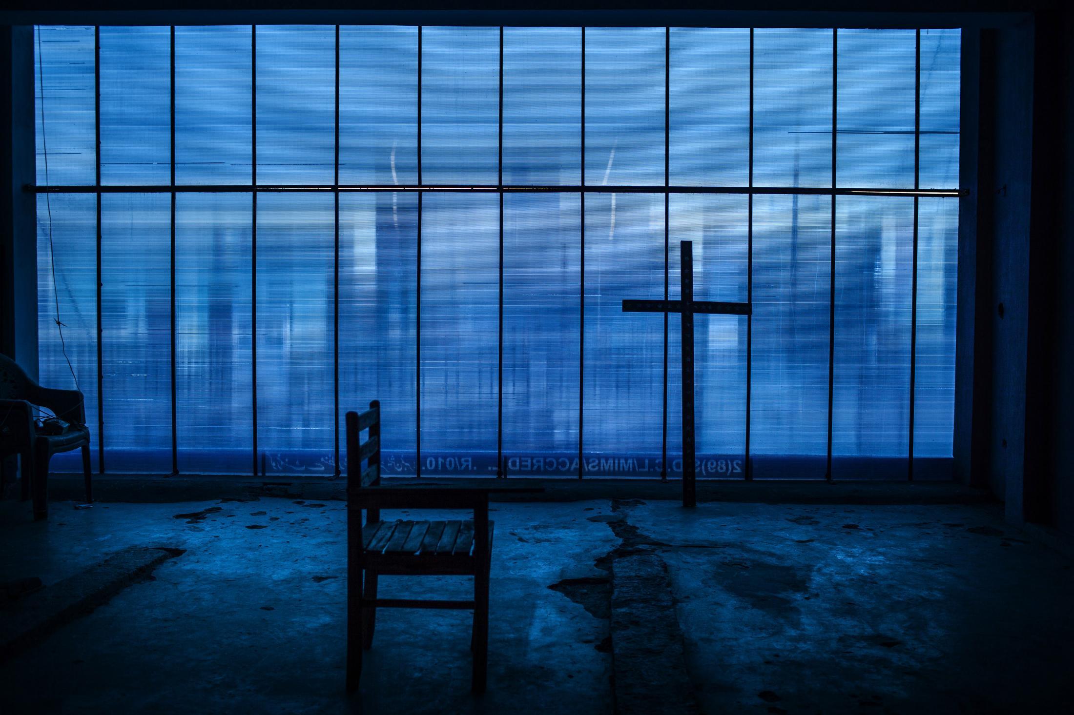 BLUE, faith, Pakistan 2013