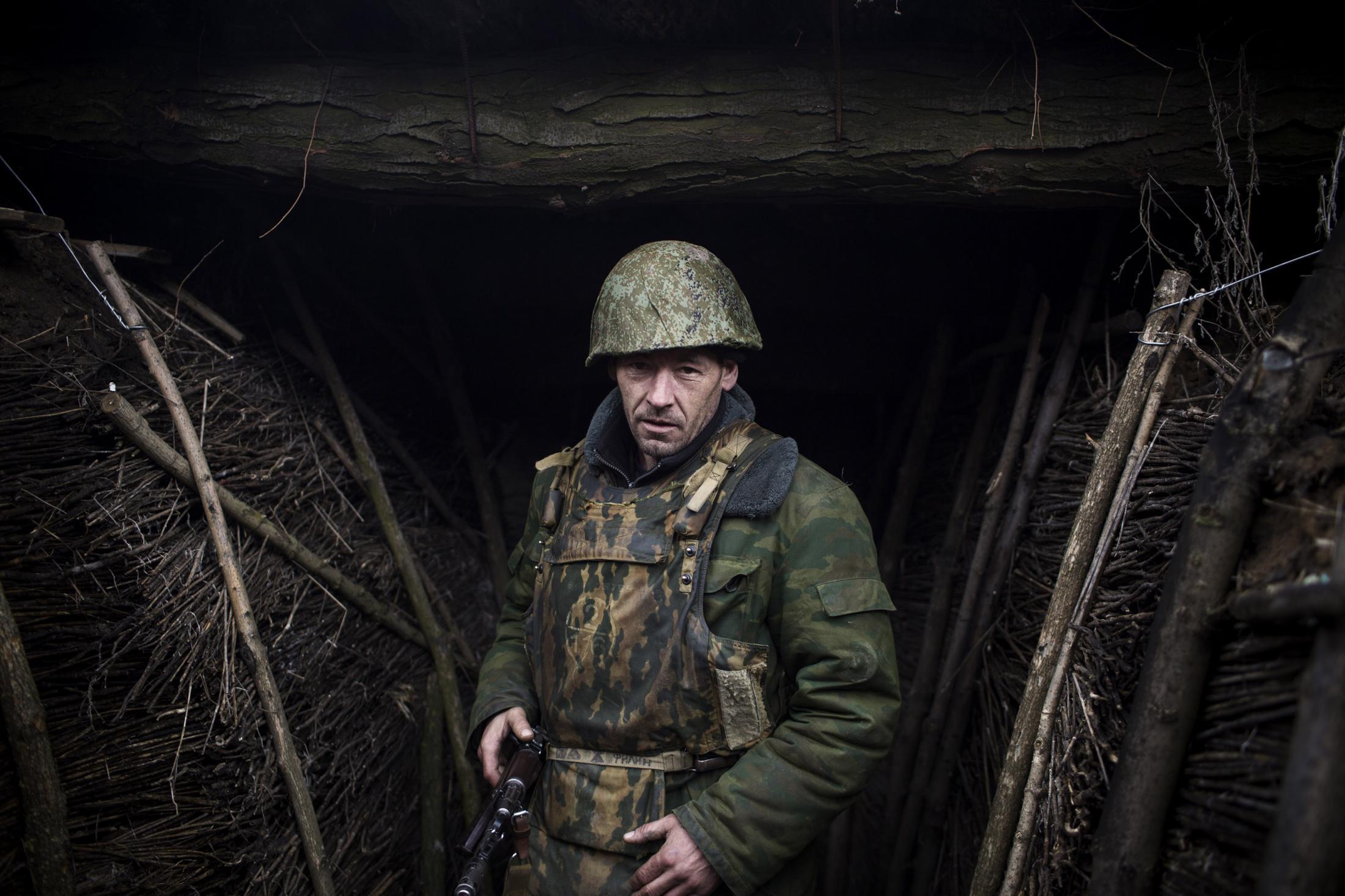 Paths of glory, Donetsk People's Republic 2018.