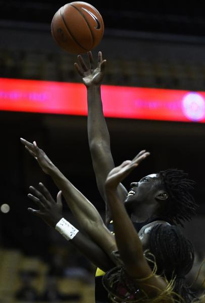 Missouri's Amber Smith makes a layup during the second half of the game on Sunday, Feb. 2, 2020, at Mizzou Arena. Missouri's next game is Feb. 6 at Georgia. The team will return to Mizzou Arena on Feb. 16.
