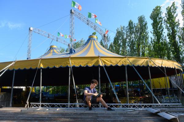 The forgotten circus