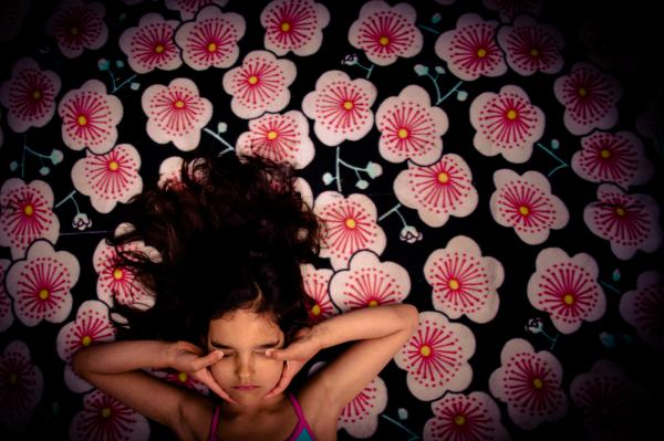 """I was in a large bed full of flowers..."" Maia"