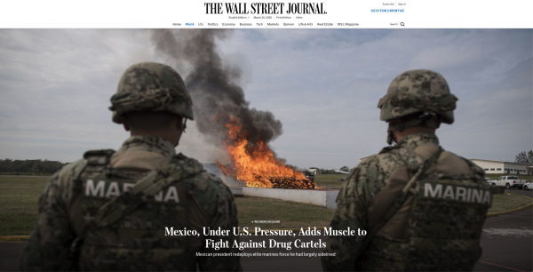  https://www.wsj.com/articles/mexico-under-u-s-pressure-adds-muscle-to-fight-against-drug-cartels-11581105334 