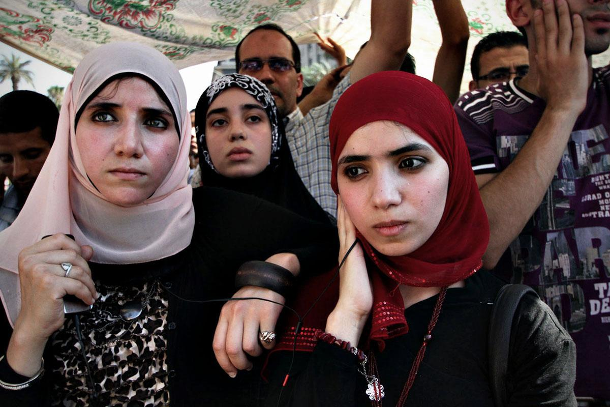On June 24, 2012, thousands gather at Cairo's Tahrir Square waiting to hear who the next president of Egypt will be. Morsi earned more than 13 million votes in Egypt's first democratic presidential election, while Ahmed Shafiq had more than 12 million votes.