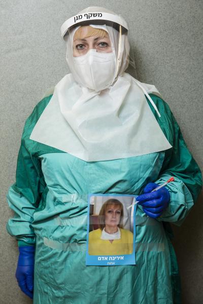 Front-line Medical portraits