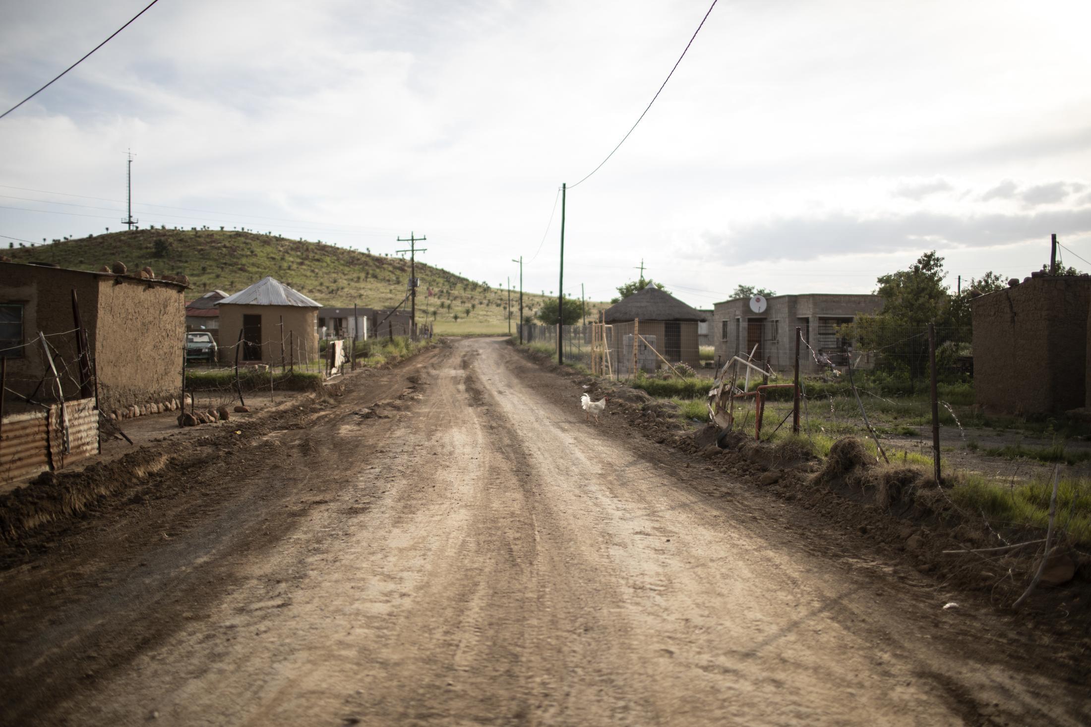 17 February 2020: A scene outside the Vilakazi home in Watersmeet, Ladysmith, Kwa-Zulu Natal.
