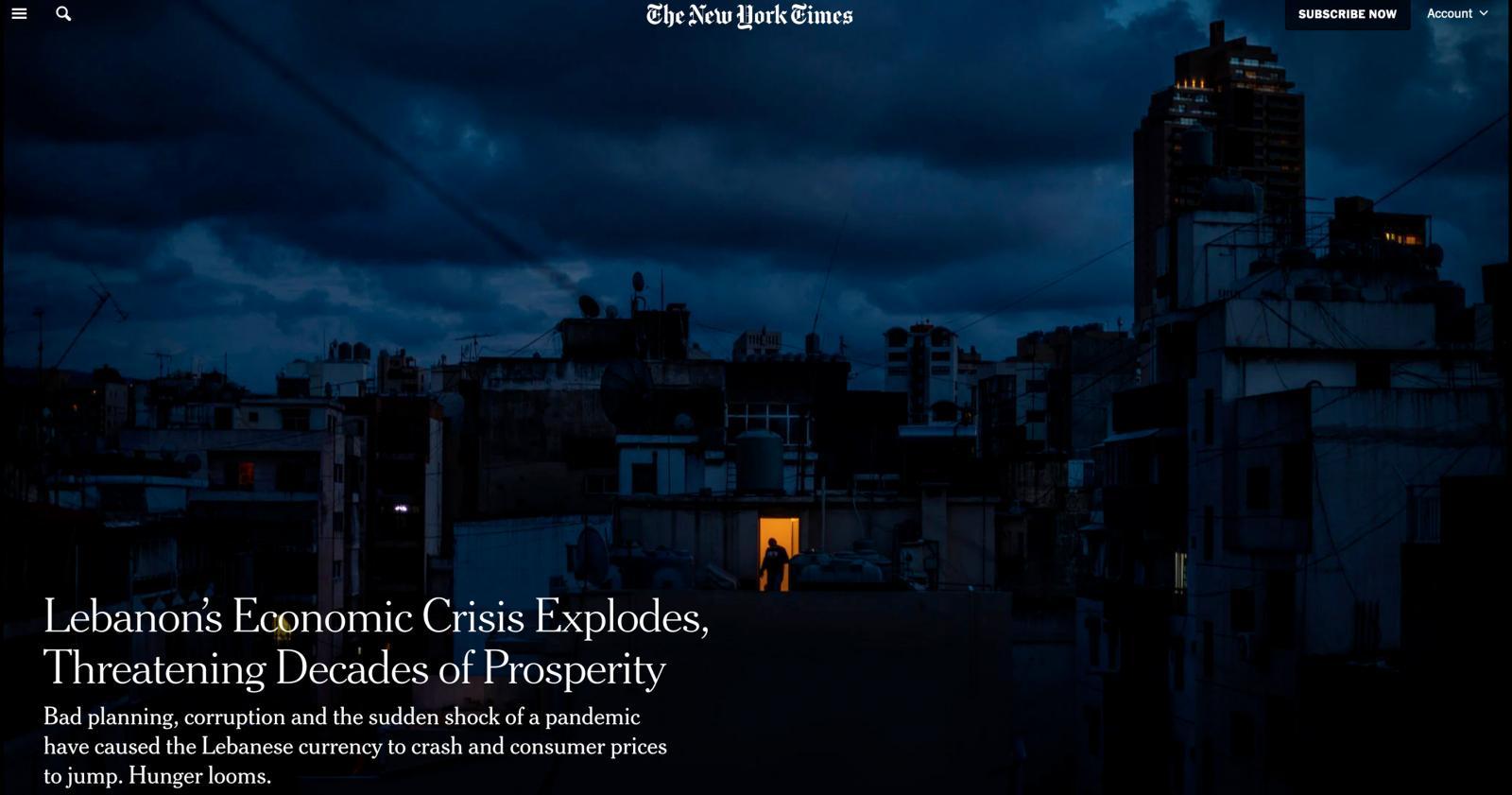 Photography image - Loading NYT_Lebanon.jpg