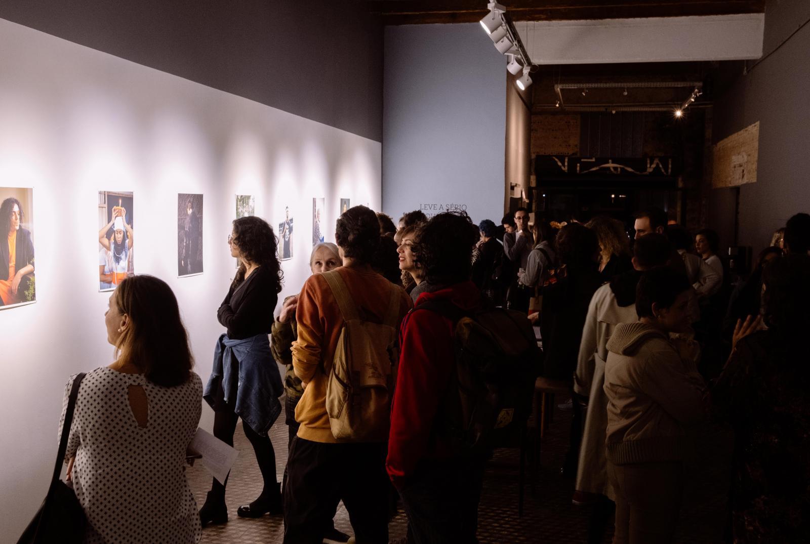 Leve a sério o que ela diz - exposição individual em Galeria Ponto de Fuga | Take her seriously - solo exhibition in Ponto de Fuga gallery. Curitiba, Brasil. 2020