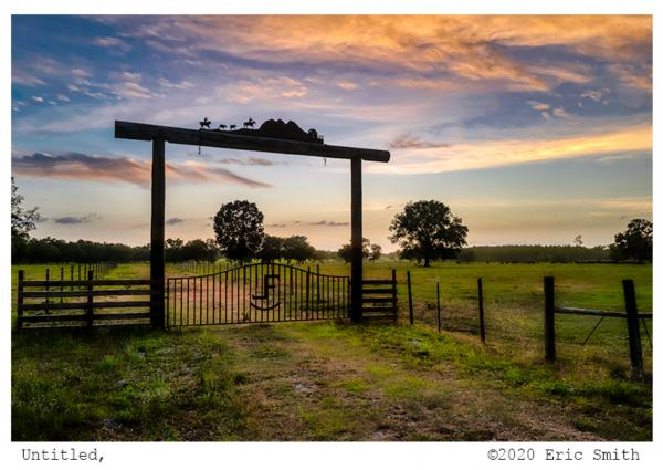 "Cattle Ranch & ""Head Gate""."