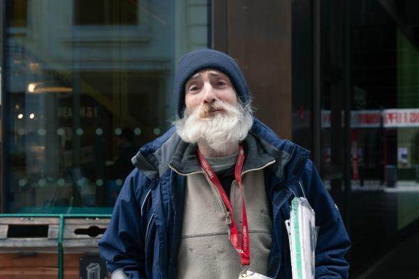 Homeless Life in London