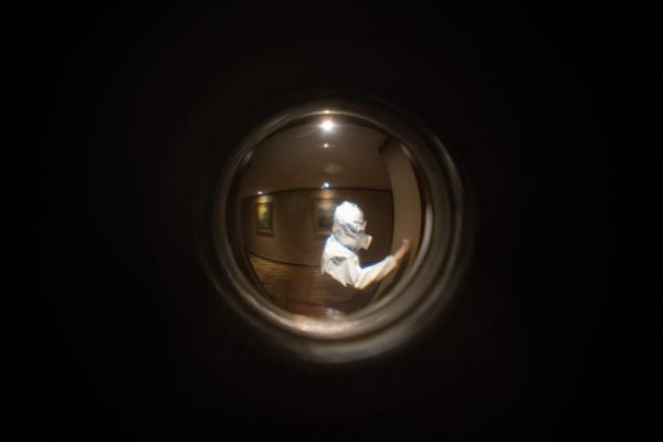 Hotel Quarantine through a Peephole