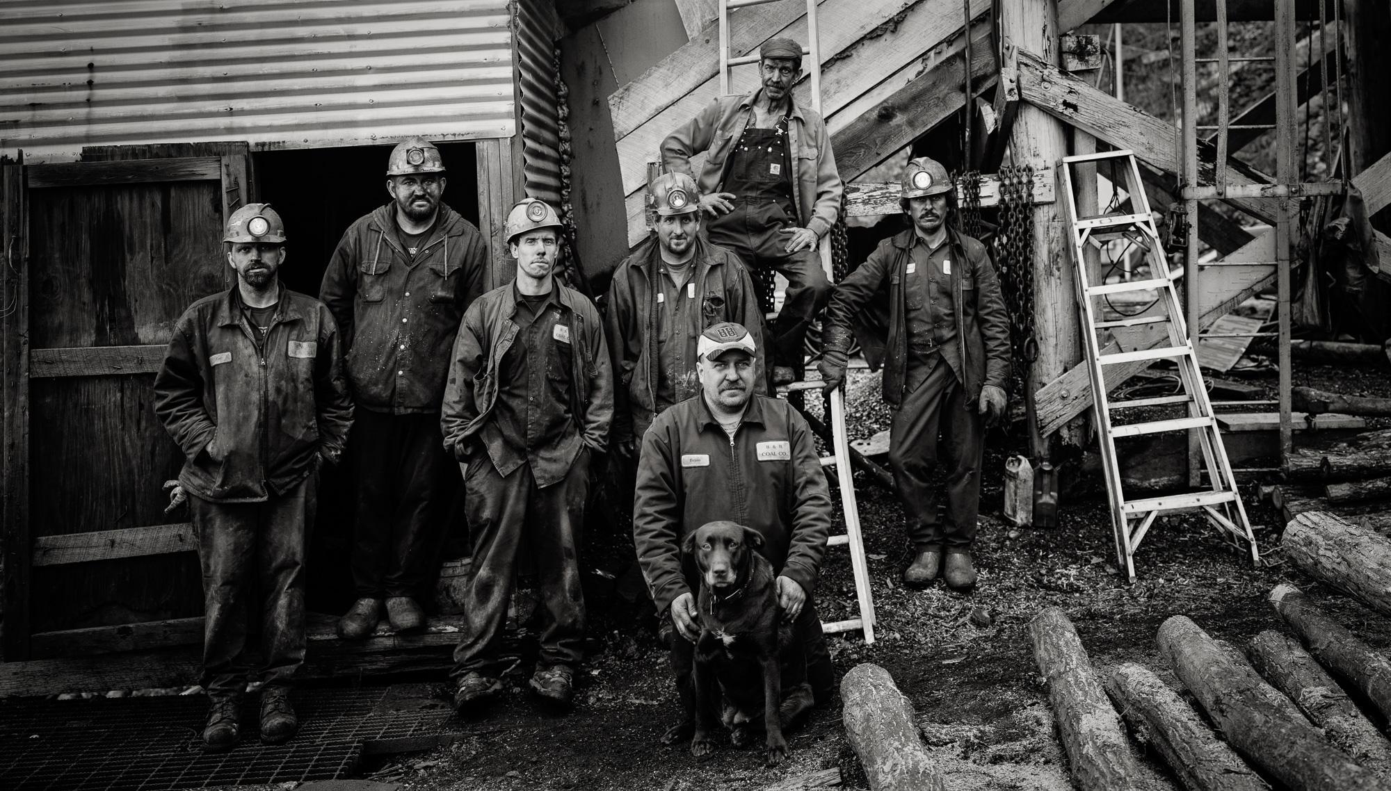 Underground Crew, old B&B Mine