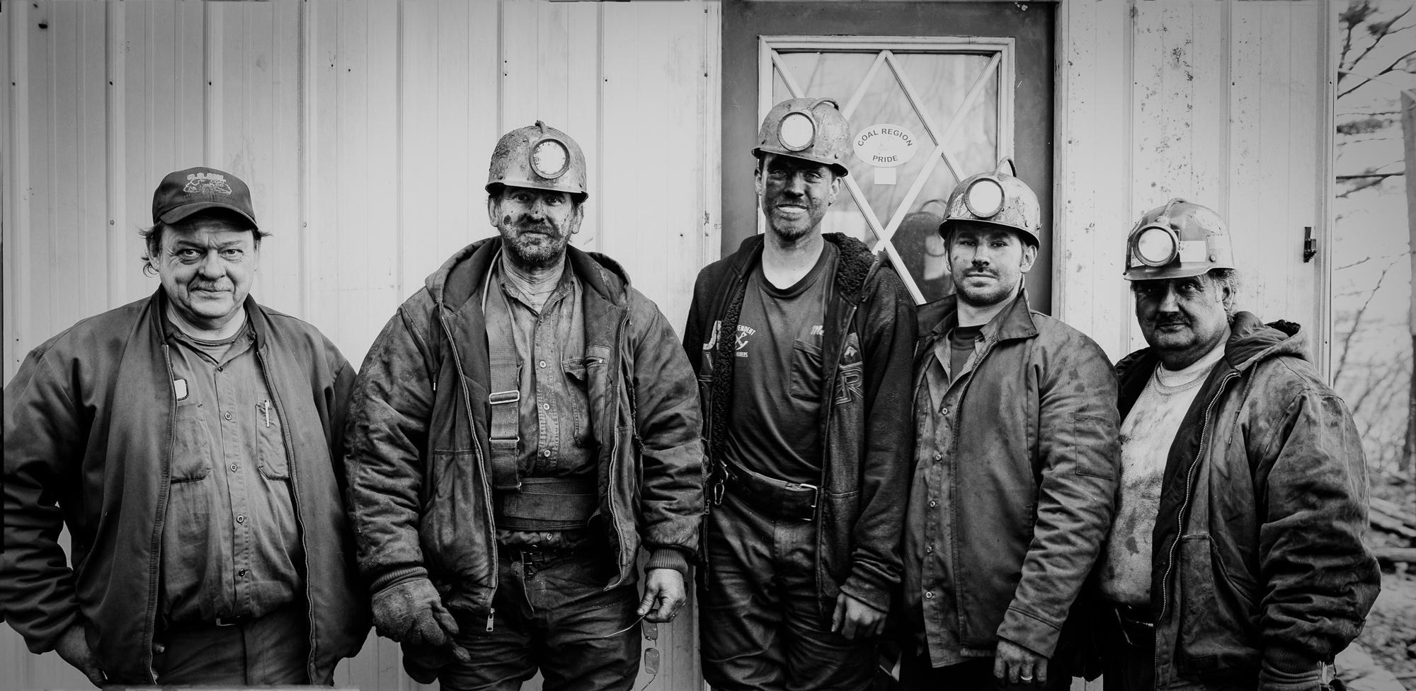 S&M Mine crew
