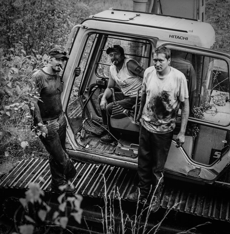 Buck, Craig, and Chris at Little Buck Mine