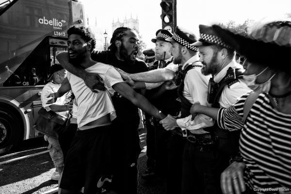 George Floyd protest, London, 31/05/2020