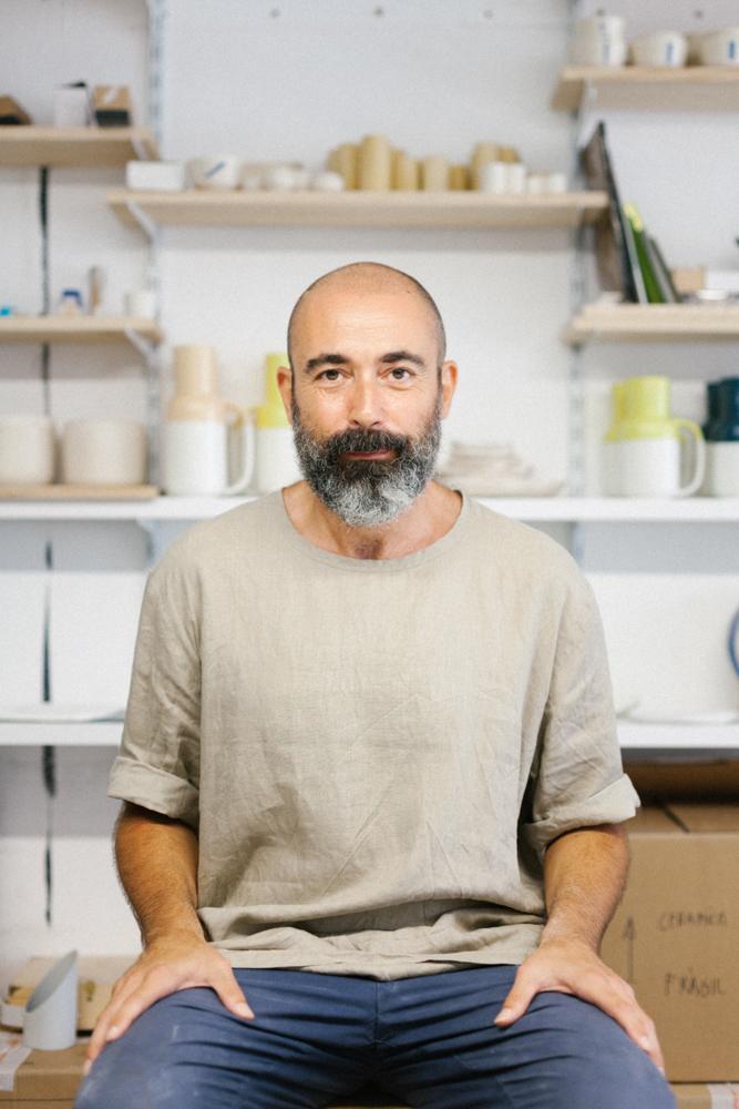 Roberto Paparcone, ceramista / ceramist