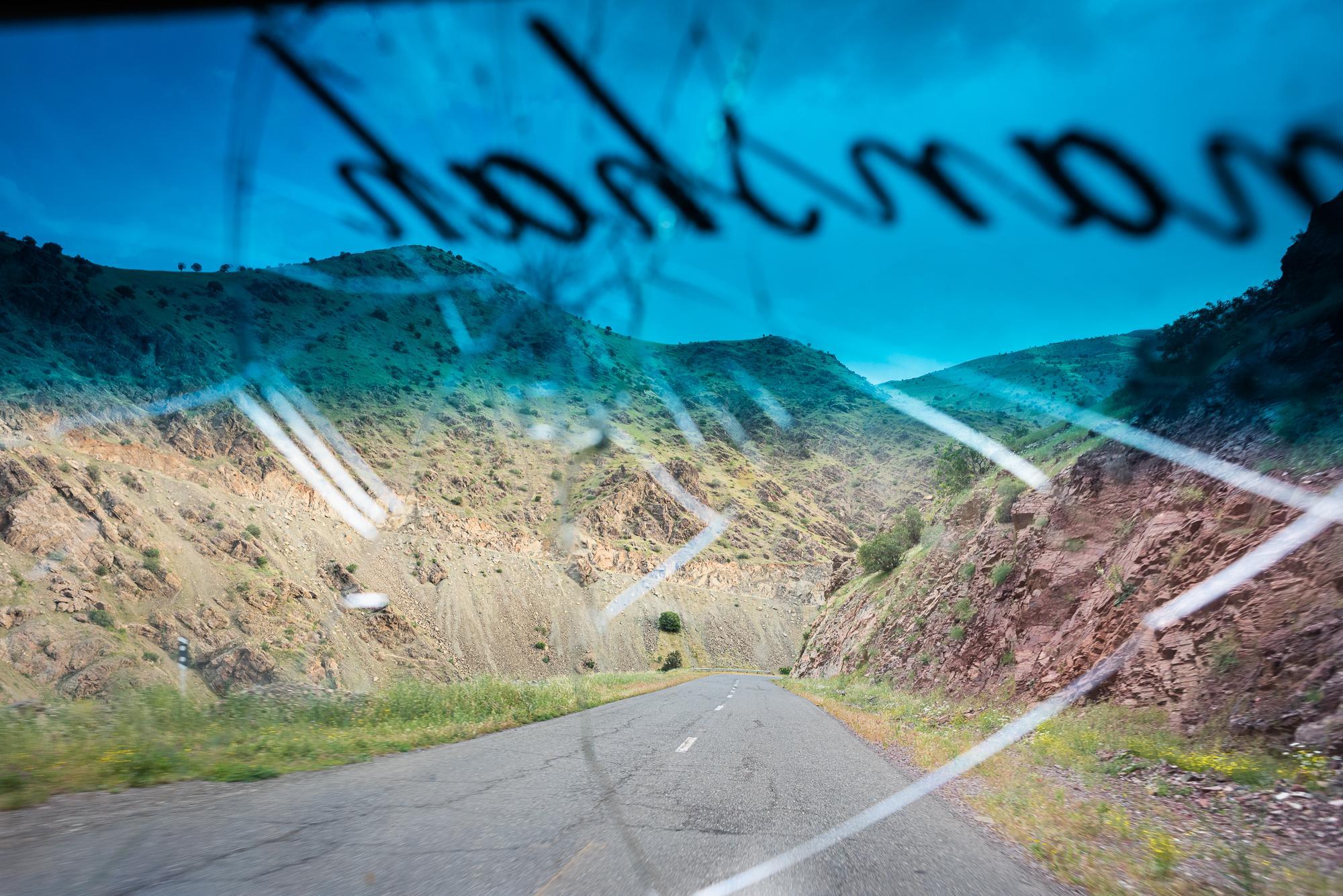 PALANGAN, IRAN – MAY 22, 2018: On the way to Hewraman Valley, Iranian Kurdistan.