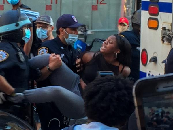 Interactions Of The George Floyd Protests In NYC