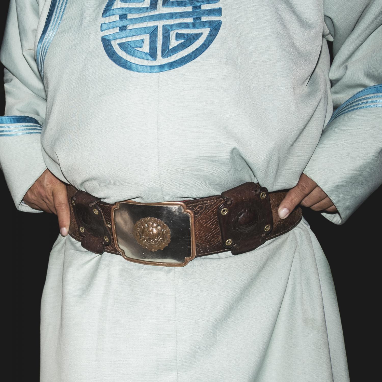 Cintura tradizionale mongola. (Mongolia Centrale. Mongolia, 2019) @Simone Filpa