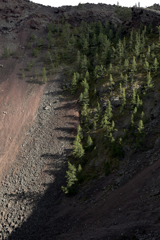 Cratere del vulcano Khorgo. (Mongolia Centrale. Mongolia, 2019) ©Simone Filpa