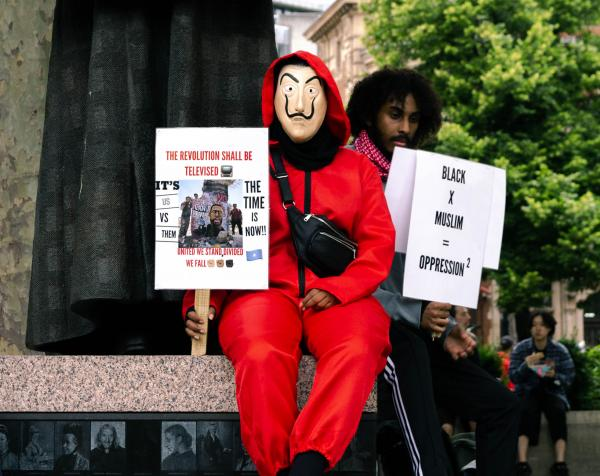 George Floyd Protest in London