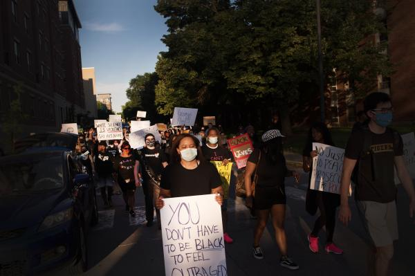 Black Lives Matter protests in Columbia, Missouri