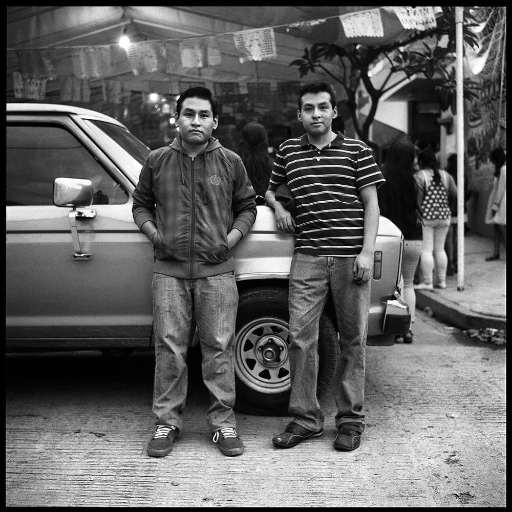 My cousins Jorge and Rene Fabian. Oaxaca city, June 2018.