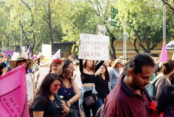 The reality in Mexico is that a lot of those who commit the crime and don't want to understand their implication are the clients of sex workers. Since its not a regulated industry it endangers thousands of people mostly girls and women, perpetuating the rape culture in the country through the objectification of our gender.