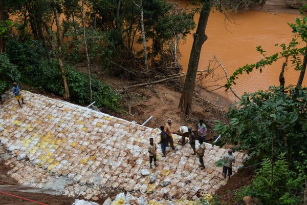 Aftermath of Coorg floods