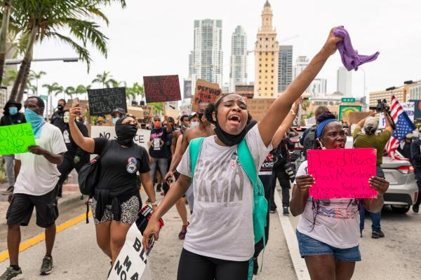 Miami, Black Lives Matter Protests