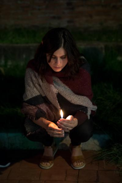 2018. A woman holds a candle during a vigil for Mara Castilla. The last days I've been traveling by myself and reflecting on my place in this world. I feel so small and so big, so powerful and powerless. I have been told over and over by people who love me and people who I've just met that I can do this, I can carry on and be strong. I chose to listen to them and fight against everything and everyone that wants to make me feel less. Always take a stand.