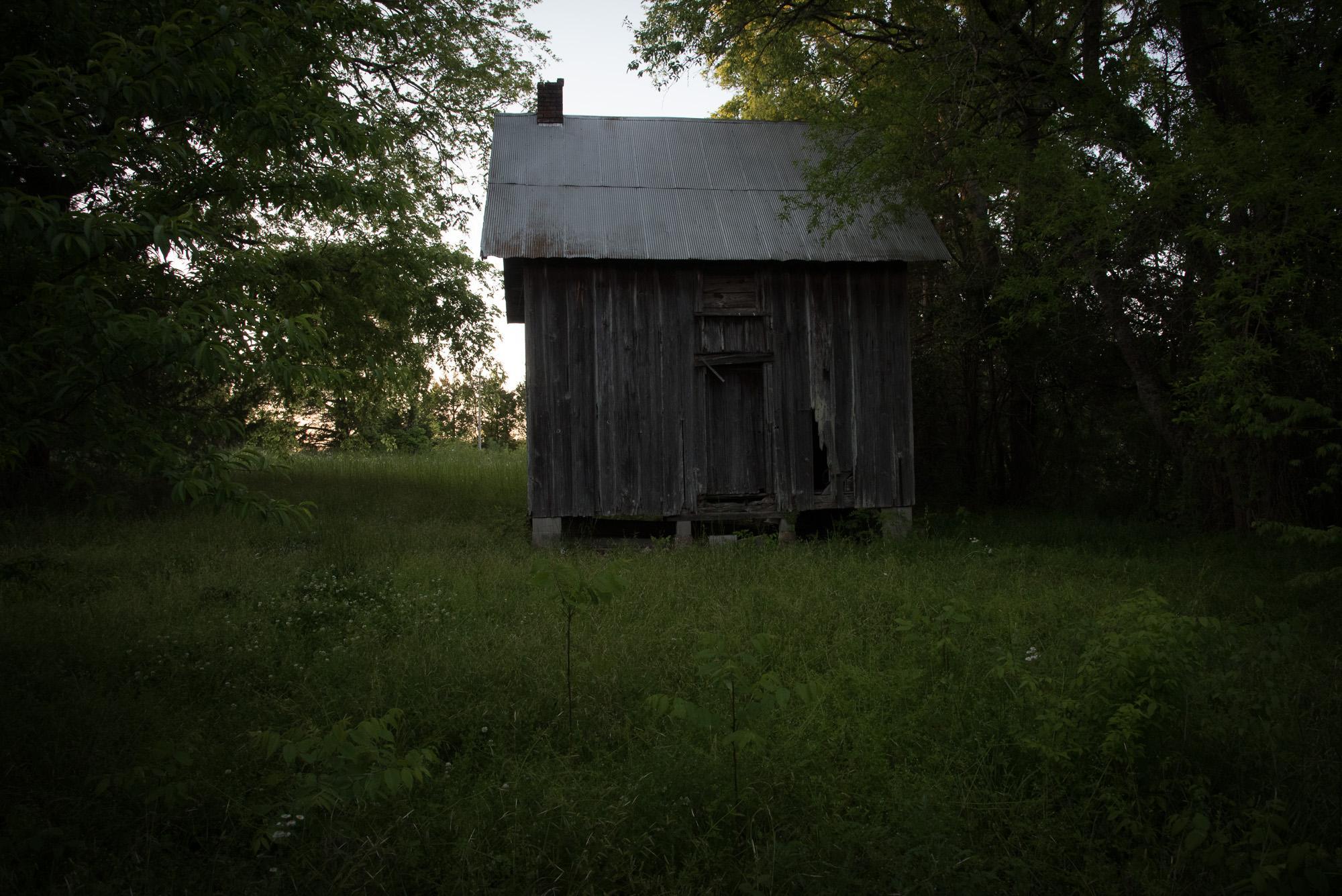 Slave Dwelling, Faunsdale Plantation, Alabama
