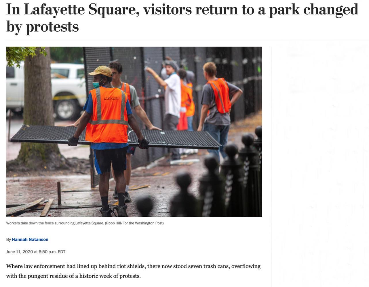 Photography image - Loading LafayetteSquareReopen.jpg