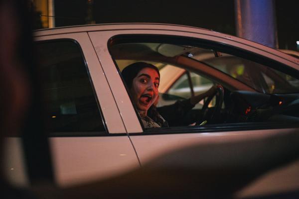 Driving Around, Tehran