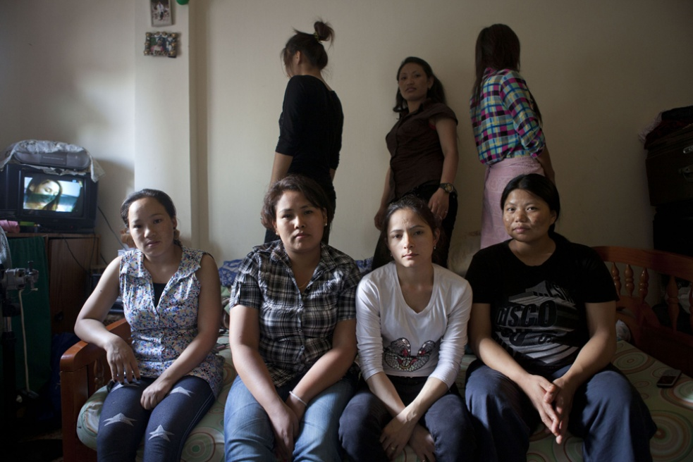 Seven young Nepalese ladies who live altogether in a one bedroom flat on the outskirts of Beirut all have their own stories of why and how they ran away from their employer.