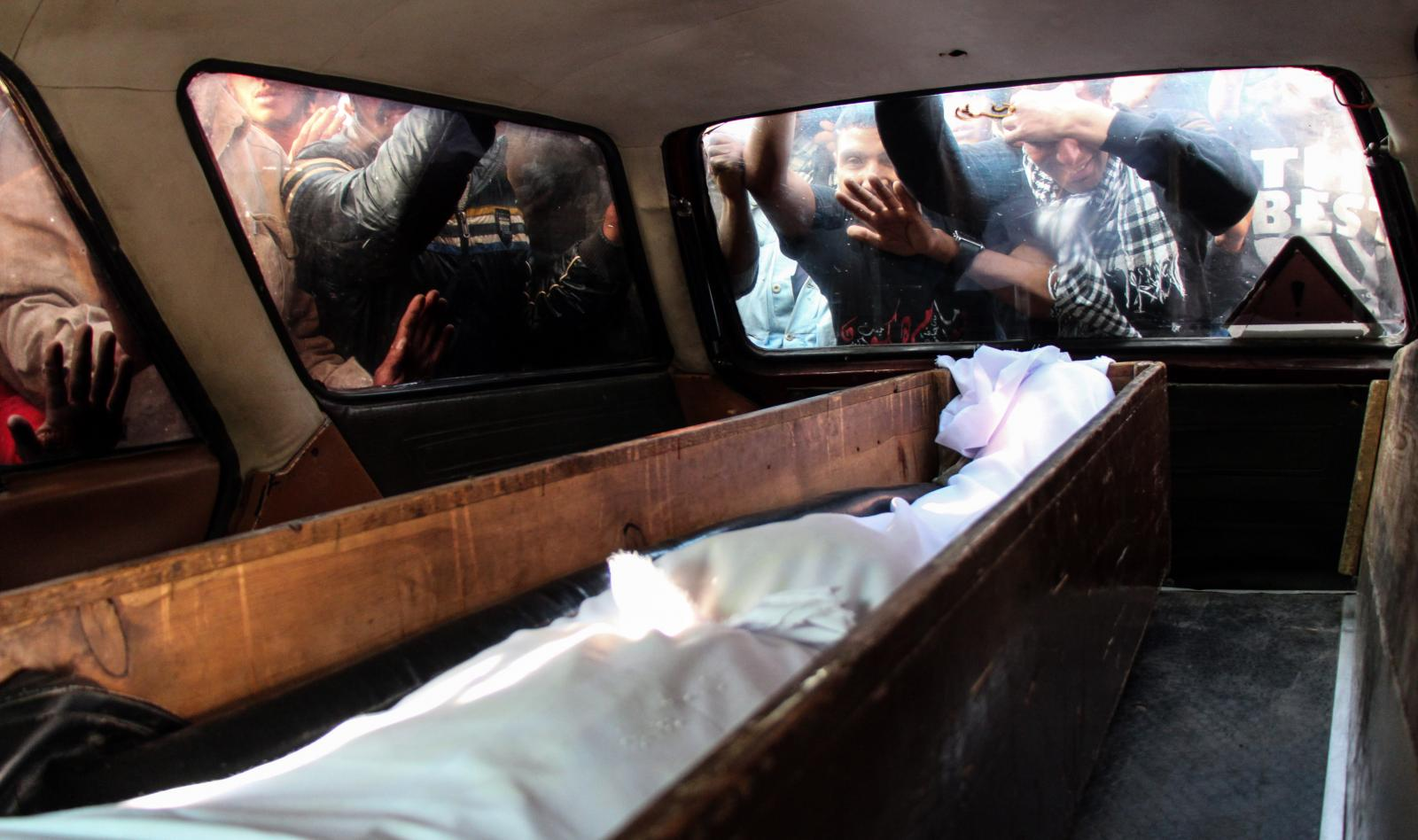 Photography image - Loading Elshafie_s_funeral_in_Cairo.JPG