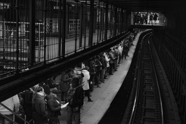 NYC Subway Portraits