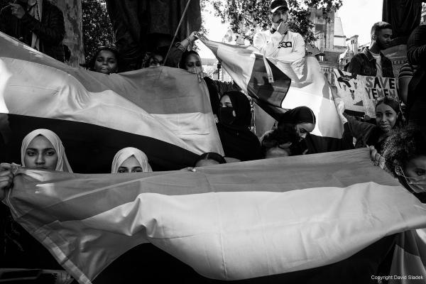 March for Yemen, London, 05/07/2020