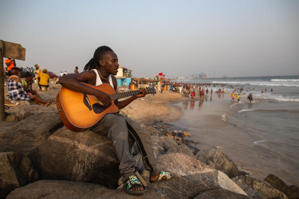 Ghanaian Beach