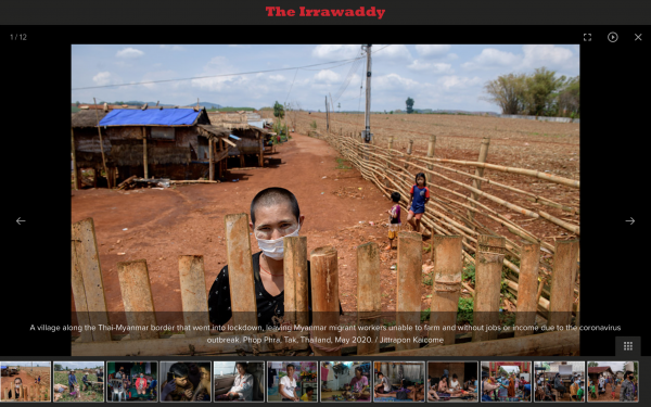 Out of Work, Out of Options: Myanmar Migrant Workers in Thailand Scrape By During COVID-19
