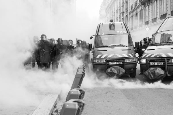 Protests and demonstrations, France, 2018 - 2020 © Tim Aspert