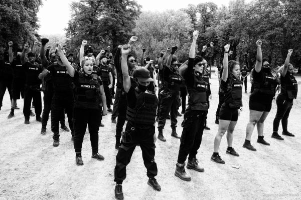 The Birth of FF Force @ African Emancipation Day/Reparations Rebellion and Black Reformist Movement march, London, 01/08/2020