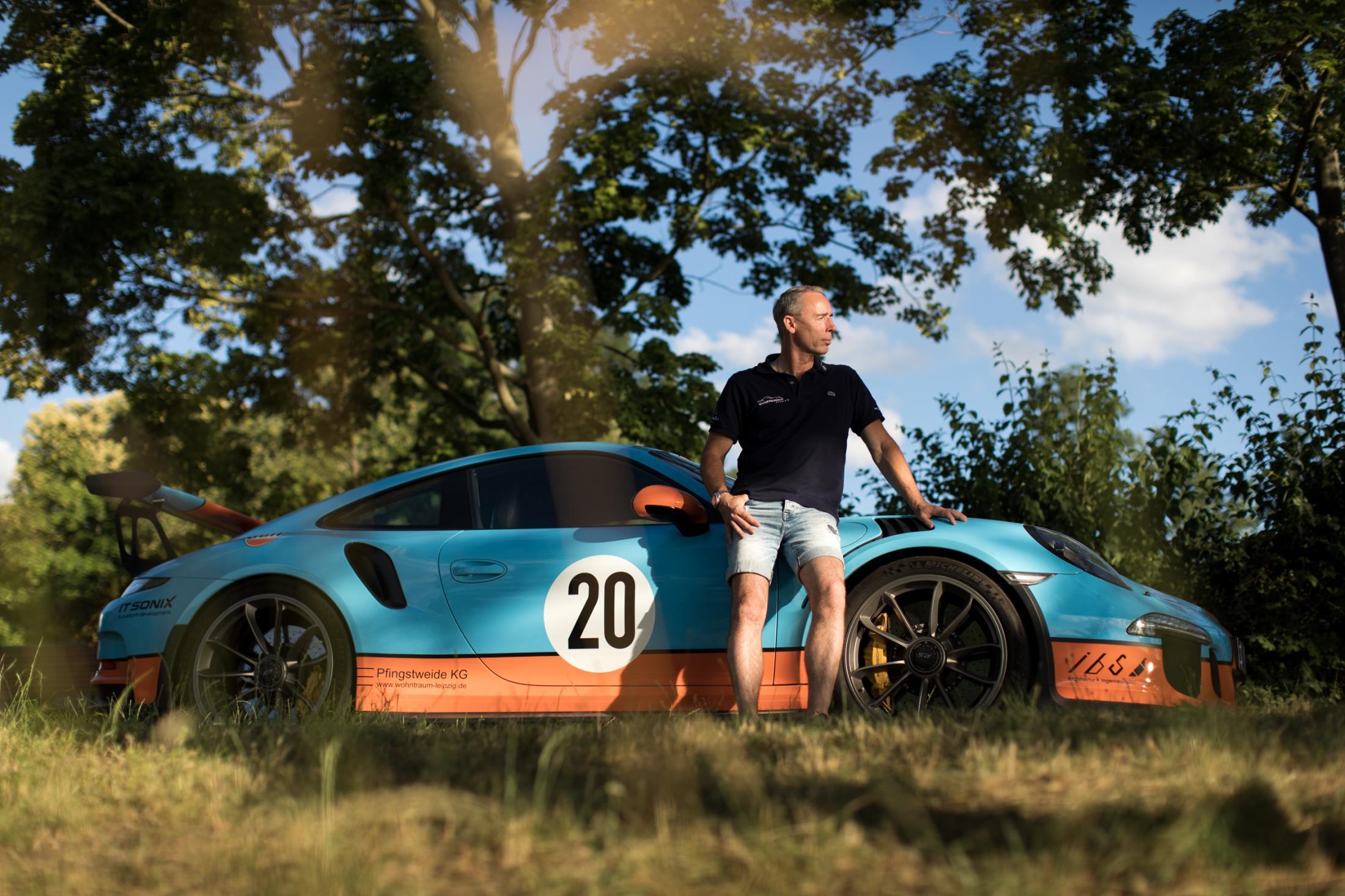 Sven Rübner - president of 'Sportwagen Club e.V.' for Neue Zürcher Zeitung