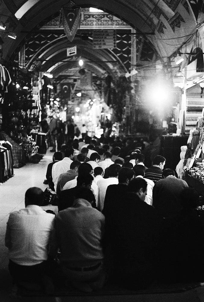 Istanbul's Egyptian Bazaar.