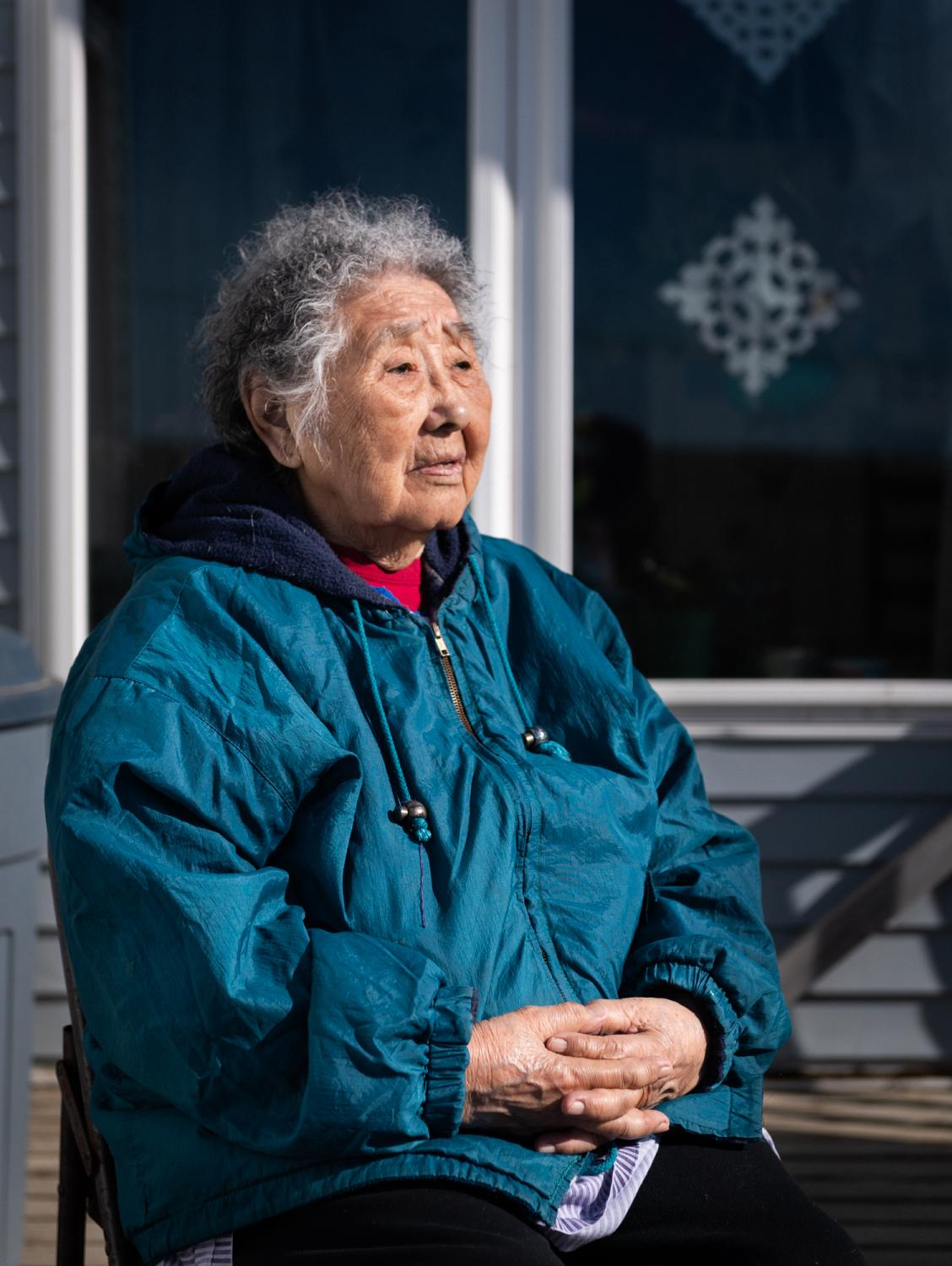 Eula David remembers stories that her mother and grandmother told her about past epidemics. May 7, 2020.