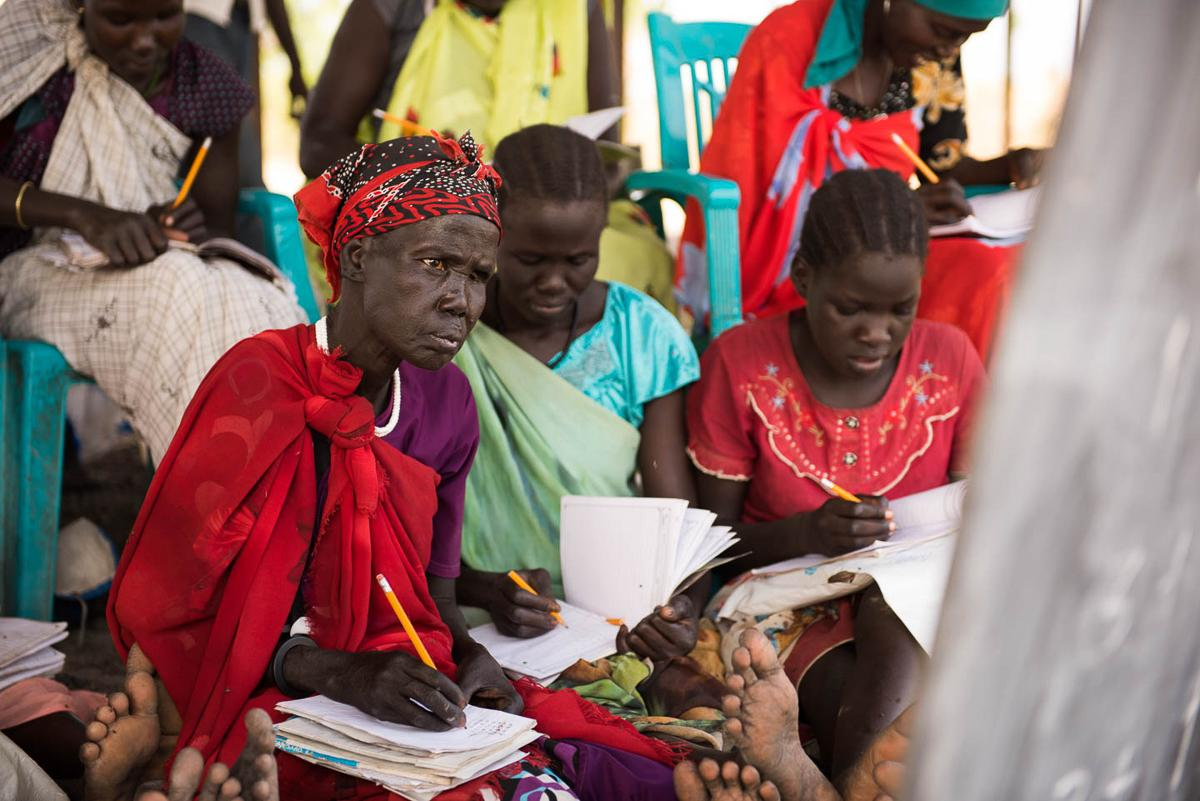 South Sudan Medical Relief in Old Fangak, South Sudan, 2015.