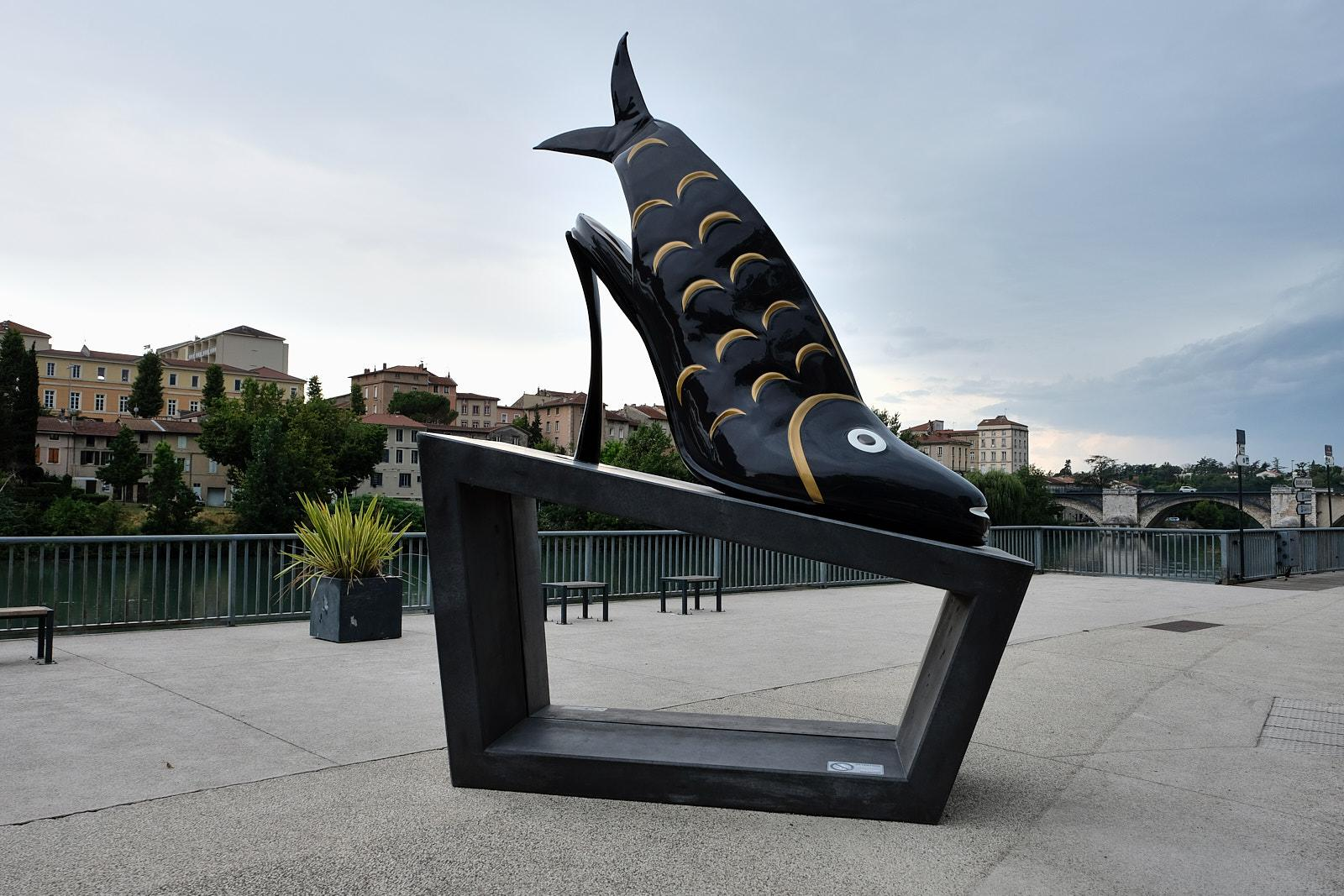 """The """"Fish"""" shoe from a design by Andre Perugia, 1955 The remnants of what was the Charles Jourdan factory in Romans ' data-lightbox-theme=""""light"""">"""