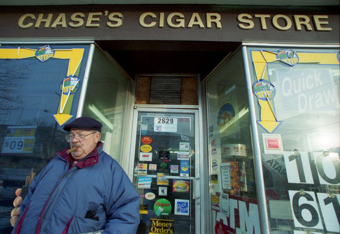 Chase's Cigar Store on James St, Eastwood, Syracuse,NY.