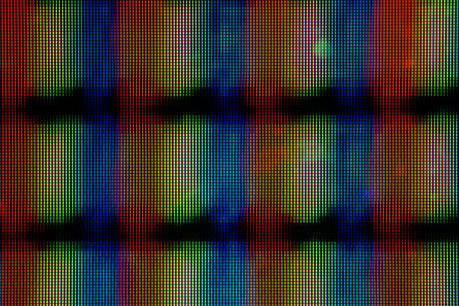 RGB Pixel Field Three.